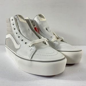 Vans Sk8-Hi Platform 2 Leather Snake Sneakers